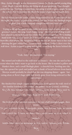 THE DARKENING is finished (here, have a snippet).