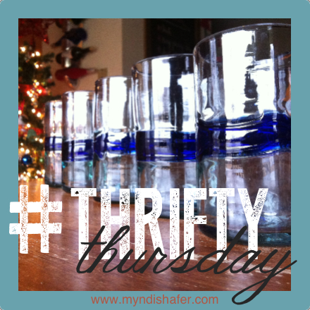 thrifty thursday - glasses